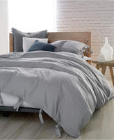 donna karan dkny pure cotton stripe king duvet cover set bedding