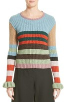 Valentino Women's Stripe Wool Sweater