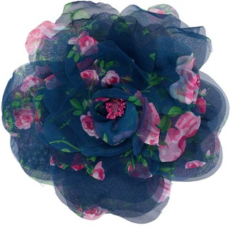 Philosophy di Lorenzo Serafini Floral Print Flower Broach