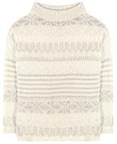 Polo Ralph Lauren Wool, Silk And Alpaca-blend Sweater