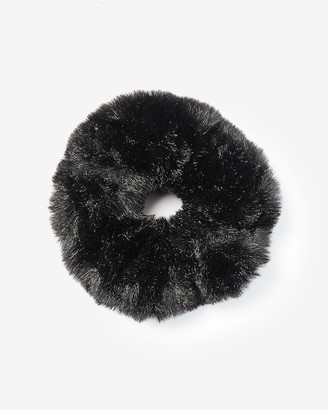 Express Oversized Faux Fur Ponytail Holder
