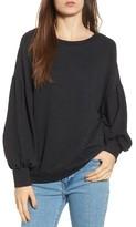 Lush Women's Puff Sleeve Sweatshirt
