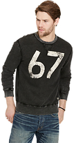 Denim & Supply Ralph Lauren Crew Neck Jumper, Polo Black