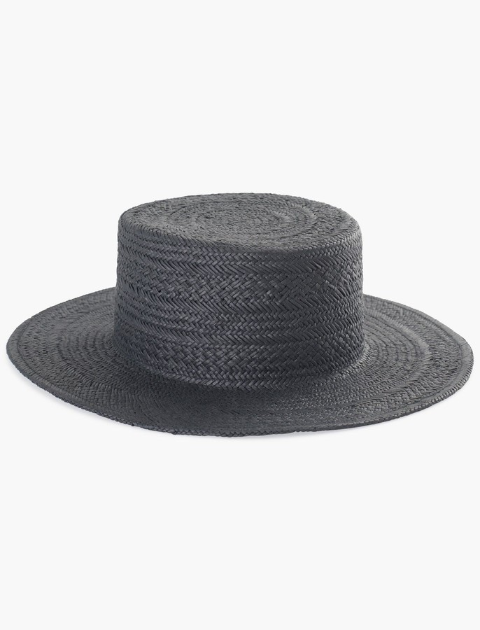 f1e8b666d33cfc Black Boater Hats For Women - ShopStyle Australia