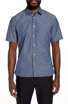 Goldwin Short Sleeve Snap Front Travel Shirt