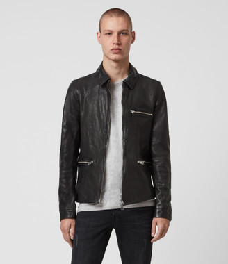 AllSaints Calix Leather Jacket
