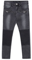 Ikks Black Jeans with Zip Pocket Detail