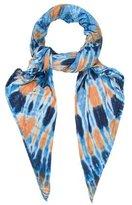 Raquel Allegra Tie-Dye Woven Scarf