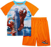 LICENSED PROPERTIES 4D 2-pc. Short Sleeve Kids Pajama Set- Boys 4-16