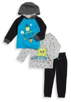 Nannette Little Boy's Space Hoodie, Henley and Joggers Set