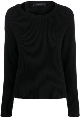 FEDERICA TOSI Cable Knit Jumper