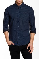 7 Diamonds Vanishing Point Long Sleeve Modern Fit Shirt