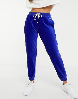 Champion logo tape tracksuit bottoms
