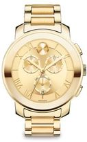 Movado Bold Luxe Chronograph Goldtone IP Stainless Steel Bracelet Watch