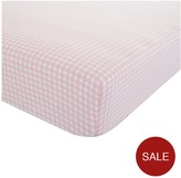 Catherine Lansfield Gingham Check Single Fitted Sheet