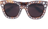 Gucci Swarovski star sunglasses