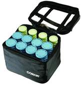 Conair Instant Heat Compact Hot Rollers W/ Ceramic Technology; Black Case With