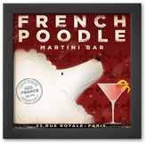 "Art.com French Poodle Martini"" Framed Art Print by Stephen Fowler"
