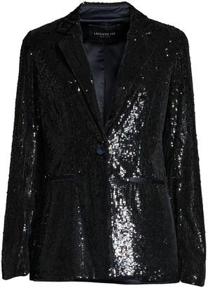 Lafayette 148 New York Nazelli Sequin Blazer