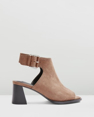 Topshop Daisy Buckle Shoe Boots