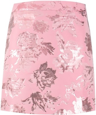 Stine Goya Floral Mini Skirt