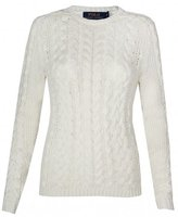 Polo Ralph Lauren Paige Chunky Cable Knit Sweater