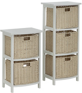 Living Collection 2 and 3 Drawer Storage Unit - Natural