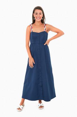 Navy Taylor Dress