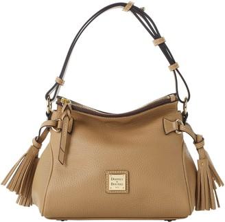 Dooney & Bourke Pebble Grain Tassel Shoulder Bag