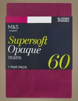 Marks and Spencer 60 Denier Supersoft Opaque Tights