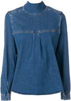 Semi-Couture Semicouture denim blouse