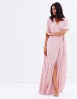 Admire Wrap Maxi Dress