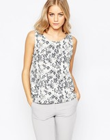 Just Female Ivana Floral Print Top