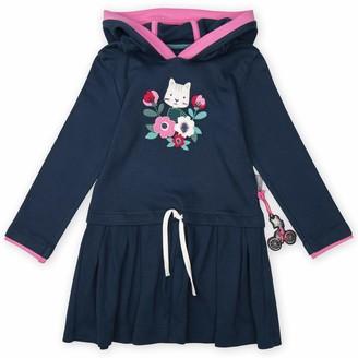 Sigikid Girl's Kleid Mit Kapuze Dress