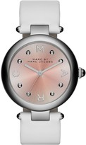 Marc by Marc Jacobs Women's Dotty Leather Strap Watch