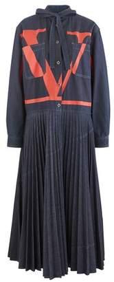 Valentino Long denim dress