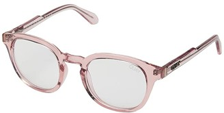 Quay Walk On (Pink/Clear Blue Light) Fashion Sunglasses