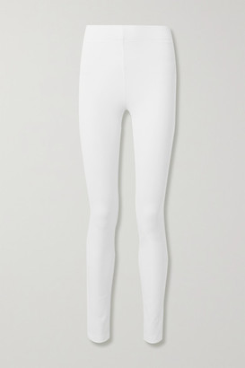 Joseph Stretch-gabardine Leggings - White
