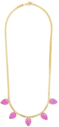 Rosaspina Firenze Peony Pink Five Drops Necklace