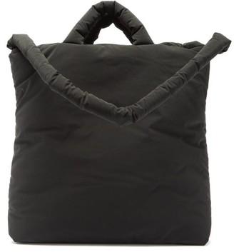 Kassl Editions Pop Oil Velvet Medium Padded Tote Bag - Black