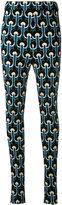 Marni embroidered leggings - women - Cotton/Viscose/Polyamide - 38