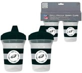 Baby Fanatic PHE122 Philadelphia Eagles Sippy Cup - 2 Pack