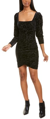 Nicole Miller Floral Burnout Sheath Dress