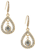 ABS by Allen Schwartz Hanging Teardrop Earrings