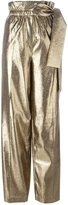 3.1 Phillip Lim lamé palazzo pants - women - Silk/Polyamide/Polyester/Viscose - 0