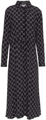 Markus Lupfer Blair Printed Crepe Midi Dress