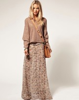 Pepe Jeans Winter Floral Maxi Skirt