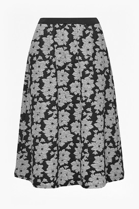 French Connection Lily Jacquard Full Skirt