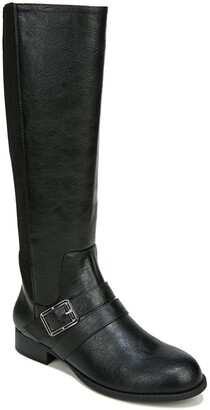LifeStride Filomena Stretch Riding Boot - Wide Width Available