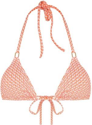 Melissa Odabash Cancun-print bikini top